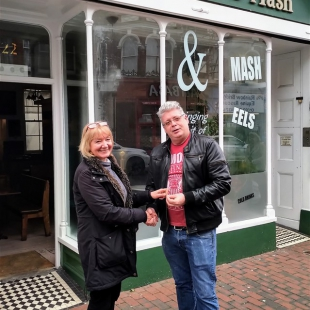 Sale of Traditional Pie & Mash Shop in Eastbourne