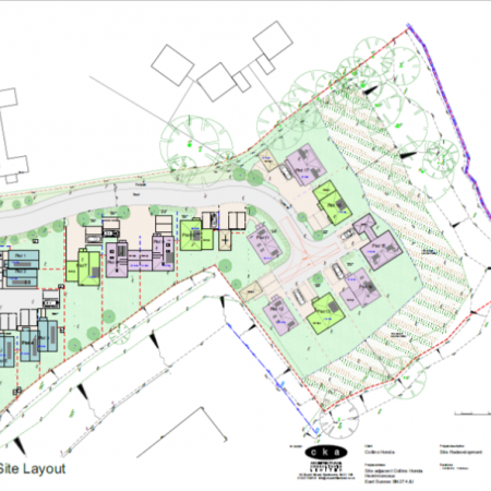 Residential Development Site with Outline Planning Consent for 17 Houses
