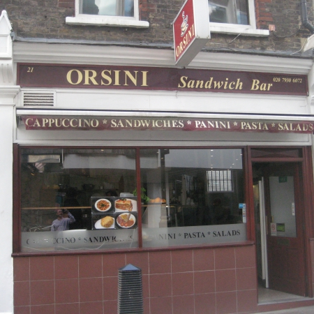 LONG ESTABLISHED SANDWICH BAR CENTRAL LONDON A3 LICENCE
