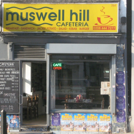 WELL ESTABLISHED A3 CAFE MUSWELL HILL LONDON