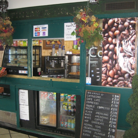 WELL ESTABLISHED COFFEE SHOP KIOSK IN CHISWICK PARK STATION LONDON W4